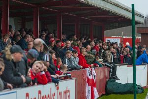 Ilkeston Town attract big gates most weeks.