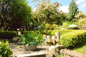 More than 1,100 people visited the open gardens event in Wirksworth.