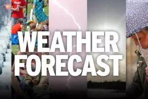 The Met Office had forecast a sunny but chilly day for Derbyshire.