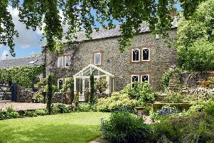 Blakelow Farm, Winster, is an idyllic home.  Picture courtesy of Fisher German
