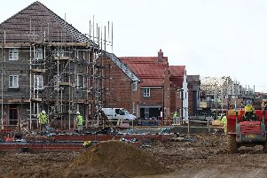 House building rates have risen in Chesterfield