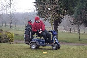Wheelchair golfer set to make history when he becomes Tapton Park Golf Club captain