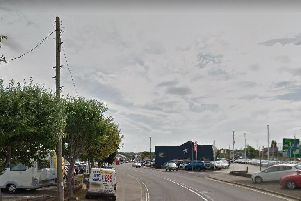 Sheffield Road is pictured.