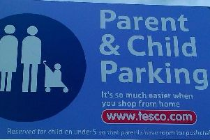 Do you know the rules for parent and child parking spaces?