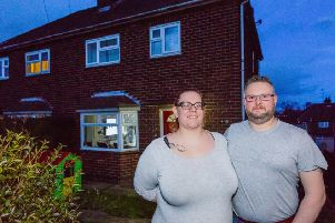 How Derbyshire couple who struggled to get on housing ladder landed dream home