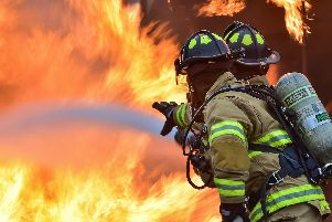 Firefighters called to a control burn