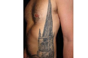 Who is the owner of this Crooked Spire tattoo?