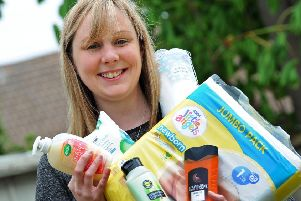 Hannah Hart has set up a Hygiene Bank where people living in poverty can access toiletries.