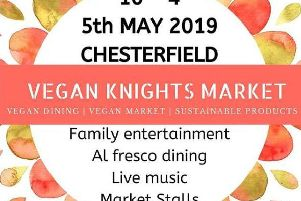 The vegan market takes place on May 5.