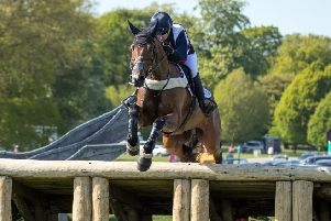 Laura Collett on her way to victory at Chatsworth aboard London 52.