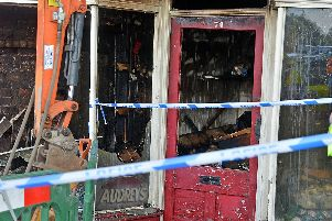 A number of properties have suffered serious damage