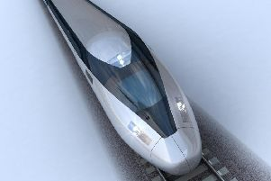 This concept design from HS2 shows how the high-speed trains could look