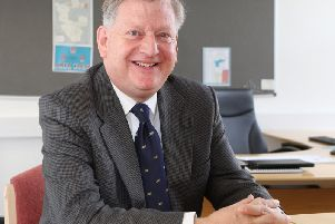 New leader of North East Derbyshire District Council, Councillor Martin Thacker.