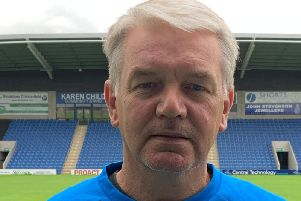 Charlie Williamson is back at Chesterfield (Pic: Tina Jenner)