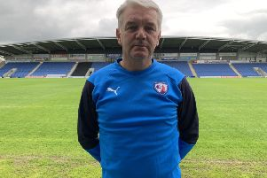 Chesterfield's new head of recruitment Charlie Williamson (Pic: Tina Jenner)