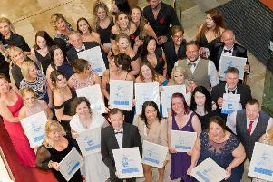 Winners at the 2019 Chesterfield Retail Awards