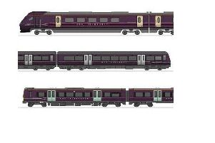 A new fleet of trains soon to be arriving in Chesterfield.