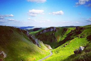 This amazing shot of Winnats Pass was taken by Instagram user @peak_stuff