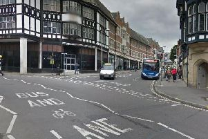 Knifesmithgate, Chesterfield. Picture: Google.