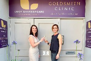Lucy Shakespeare Personal Training and Sports Therapy and The Goldsmith Clinic are two new businesses in Chesterfield.