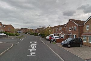 The 25-year-old man was arrested on Hornbeam Close, Hollingwood, where he lives.