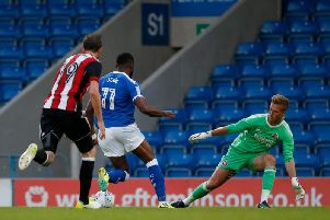 Action from the last friendly between the sides at the Proact