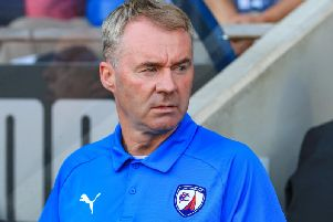 John Sheridan says he is hurt by Chesterfield's poor start.