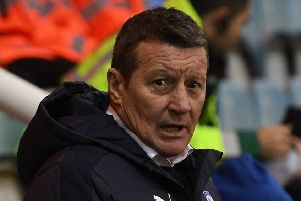 Picture Andrew Roe/AHPIX LTD, Football, EFL Sky Bet League One, Peterborough United v Chesterfield, ABAX Stadium, 09/12/16, K.O 3pm''Chesterfield's manager Danny Wilson''Andrew Roe>>>>>>>07826527594
