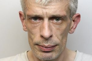 Pictured is serial motoring offender Richard Jonathan Hardy, 42, of Oakdale Road, South Normanton, who has been jailed for 18 weeks after he admitted driving while disqualified.