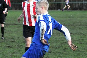 Liam Fox was among the Hartshead goal scorers when they beat East End Park 4-3.