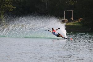 Batley water skiier Danny Jays won a bronze medal in the slalom event at the European Youth Championships held in the South of France. Picture: Nick Parkin