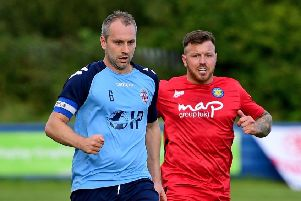 Liversedge captain Tom Jackson will lead his side out at the Cobbydale Stadium this Saturday as he side come up against former North West Counties outfit Silsden in the first of back-to-back games. Picture: Paul Butterfield