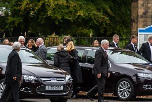 Archie Bruce funeral