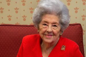 Former speaker of the House of Commons Baroness Betty Boothroyd