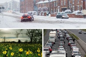 Poor weather, roadworks and an increased level of holiday traffic will make the roads very busy this Easter weekend.