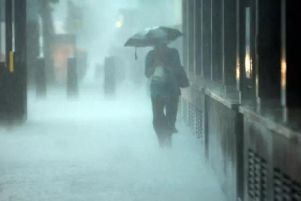 Heavy rain is expected across the country today.