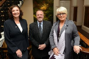 Lesley McLean, Mark Burns-Williamson and Baroness Helen Newlove.