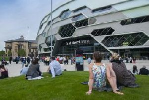 The First Direct Arena in Leeds