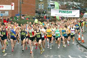 The annual Dewsbury 10k is on Sunday morning.
