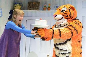 The Tiger Who Came to Tea is on at Wakefield Theatre Royal