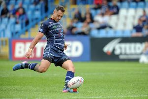 Featherstone Rovers' Dane Chisholm. PIC: Tony Johnson/JPIMedia