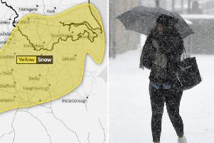 A Yellow Warning for snow has been issued