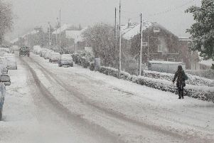 An amber snow warning has been issued for Doncaster.