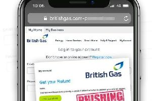The British Gas fake email