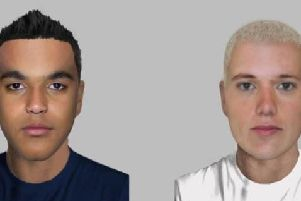E-fits of the two suspects.