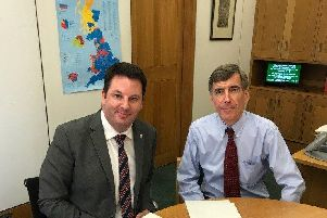 IsleMP, Andrew Percy, met the interim minister for flooding issues, David Rutley MP, to discuss the South Ferriby flood defence scheme