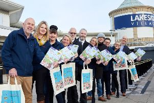 The launch of the new guide'Pix: Shaun Flannery/shaunflanneryphotography.com''COPYRIGHT PICTURE>>SHAUN FLANNERY>01302-570814>>07778315553>>''18th January 2019'Lakeside Village''Launch of Visit Doncaster guide
