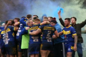 Bentley celebrate victory over the Army
