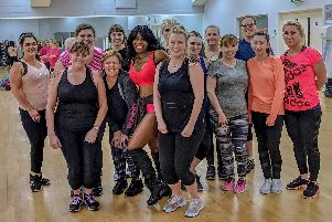 A Doncaster woman is helping people in the town to get fit and have fun with her Zumba classes.