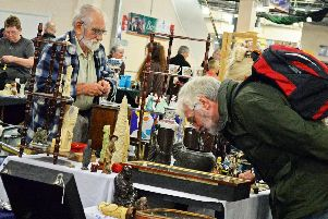 The Antique & Collectors Fair gets underway at the Doncaster Racecourse, with it appearing next on the 19th November. Picture: Marie Caley NDFP Antiques Fair MC 1
